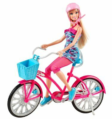 Barbie Fab Life: Doll and Bike - New and Sealed