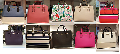 Kate Spade New York Laurel Way Evangelie Saffiano Leather Shoulder Bag Satchel