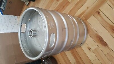 ANHEUSER BUSCH 15.5 GALLON BEER KEG EMPTY ~ Many Uses ~ Rat Rod Tank Table Base