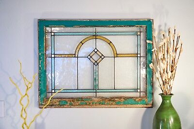 Antique Stained-Glass Window