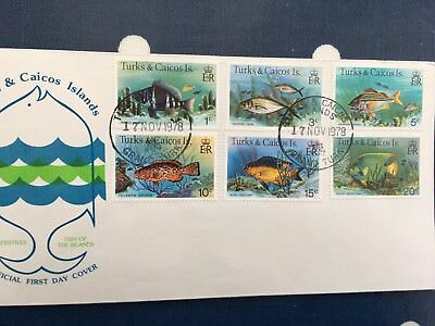 Turks & Caicos antigua etc nice FDC covers