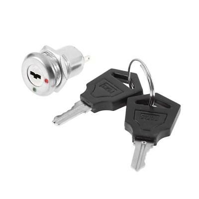 1XElectronic Key Switch Lock Off/On Lock Switch security Tubular with Key KS-01