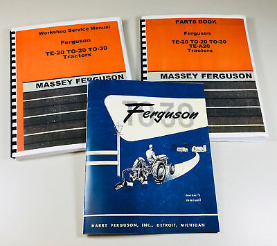Harry Massey Ferguson To 30 Tractor Service Repair Parts harry massey ferguson to 30 to 20 te 20 tractor parts manual book 20