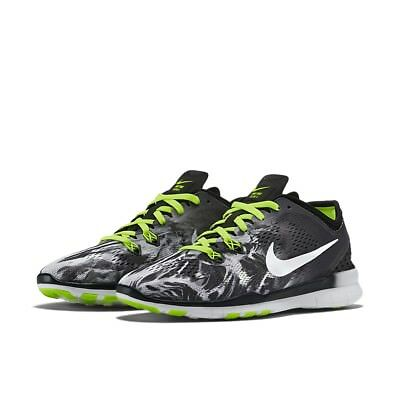 outlet store 31224 85193 Women s Nike Free 5.0 Tr Fit 5 Print Training Shoes NEW Black White , MSRP
