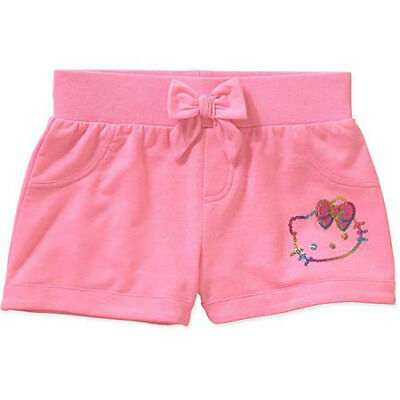 Girls Hello Kitty Knit Shorts