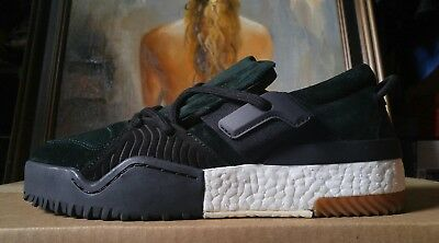sports shoes b28c8 79469 Adidas Boost Alexander Wang size 8 9 10 10.5 AW BBall Low Green Night DA9309