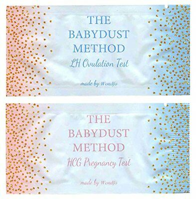 Wondfo Extra Wide Tests - by The Babydust Method - 50 LH ovulation and 20 HCG...