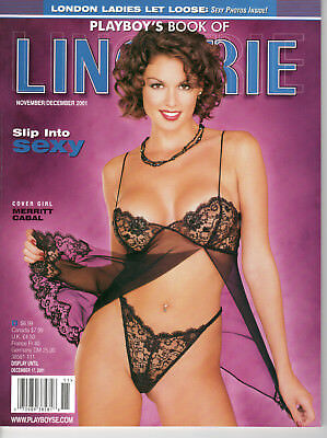 Playboy's Book of Lingerie - November December 2001 - Newsstand Special