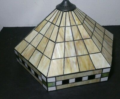 Stained glass tiffany style lampshade shade only mission arts and stained glass tiffany style lampshade shade only mission arts and crafts aloadofball Gallery