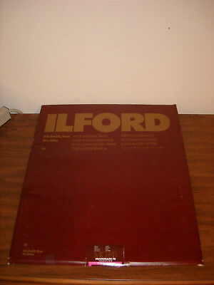 Ilford MG FB Warmtone B&W Photo Paper | 16x20 in | Glossy | 9 sheets