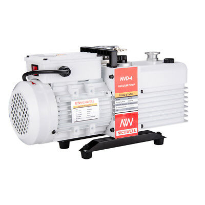 NICHWELL NVD-4 2.8 cfm Corrosion-Resist Commercial Grade 2-Stage Vacuum Pump