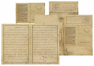 Auschwitz Concentration Camp Letter From 1944