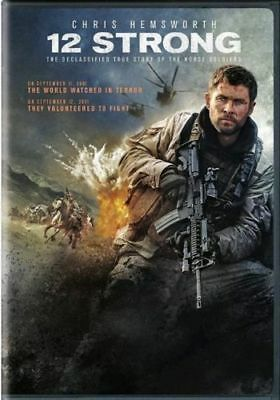 12 Strong (DVD,2018) NEW* Drama, History, War* PRE-ORDER SHIPS ON 05/01/18