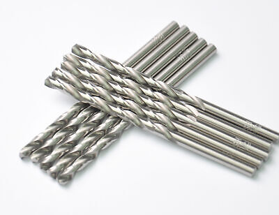 10pcs,1/16 Inch Bright High Speed Steel General Jobber Drill Bits for Metal