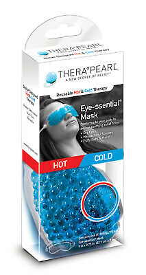 TheraPearl Eye Mask - Reusable Hot & Cold Therapy by Bausch + Lomb