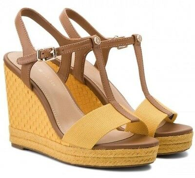 70f735892 TOMMY HILFIGER FW0FW02249 929 Iconic Elena Pop Colour Women s Sandals Wedge  - £46.85