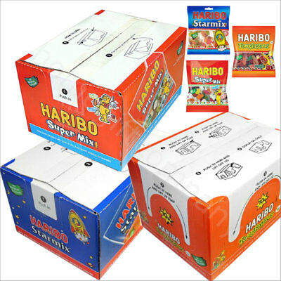 Mini Haribo Bags Starmix Supermix Tangfastics Jelly Sweets Candy Party Favours