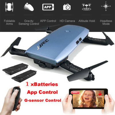 JJRC H47 Foldable Selfie Wifi Drone FPV Quadcopter HD Camera with Extra Battery