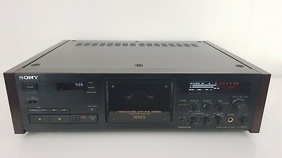 Sony TC-K950ES Black Supreme High-End Stereo Cassette Deck *New Drive Belts*