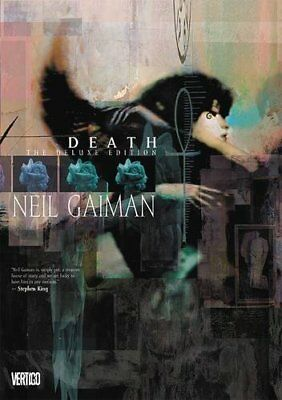 DEATH DELUXE EDITION By Neil Gaiman - Hardcover **BRAND NEW**