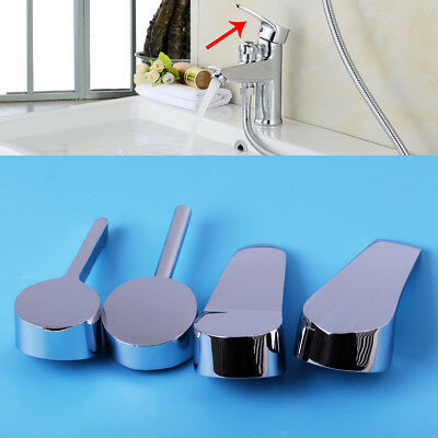 35mm/40mm Silver Zinc Alloy Kitchen Bathrooms Mixer Tap Handle Lever Replacement