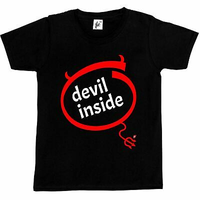 Devil Inside Funny Nerd Geek Parody Kids Boys / Girls T-Shirt