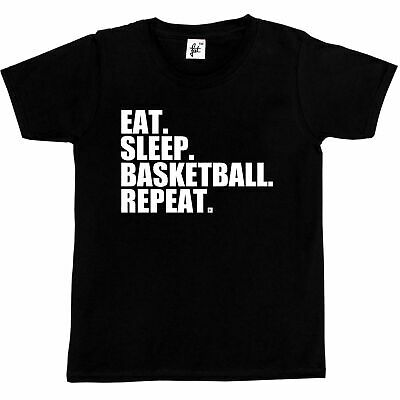Eat. Sleep. Basketball. Repeat. Slam Dunk  Kids Boys / Girls T-Shirt