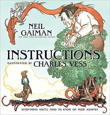 INSTRUCTIONS By Neil Gaiman - Hardcover **BRAND NEW**