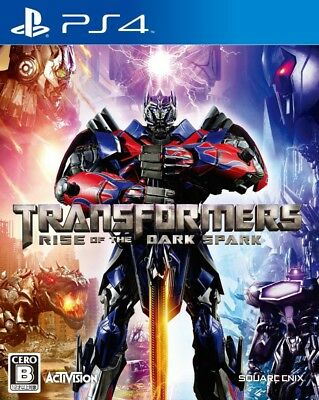 Used PS4 Transformers Rise Of The Dark Spark Square Enix PlayStation 4 Japan F/S