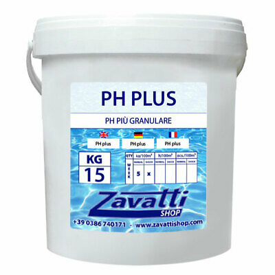 Ph Plus granulado para piscina - 15 Kg