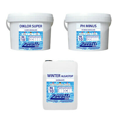 Winter kit 30 Kg - Invernaje del agua