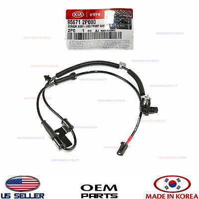 Abs Wheel Speed Sensor Front Right Genuine! Kia Sorento 2011-2013 956712P000