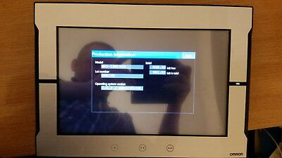 """Omron NA5-12W101S 12.1"""" Colour touch screen operator interface"""