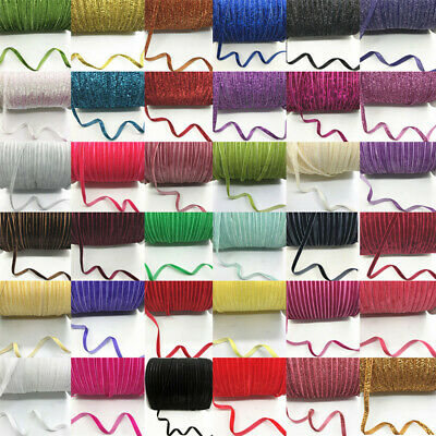 NEW 6mm 5/10/20yards Multipurpose Velvet Headband Clips Bow Ribbon Decoration U