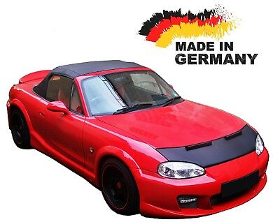 Bonnet Bra Mazda MX 5 Car Mask Hood Cover Front End Stone protection NEW
