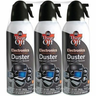 Falcon Dust-Off 10oz Professional Safety Compressed Air Duster 3-PACK BRAND NEW!