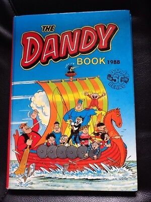 The Dandy 1988 Vintage Annual (50years Anniversary) VGC