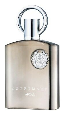 Afnan Supremacy Silver 100Ml Edp-Free Gift( Aventus Type Oil 3Ml) Free Del.