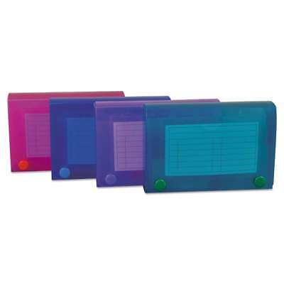 C-Line® Index Card Case, Holds 100 3 x 5 Cards, Polypropylene, As 038944584355