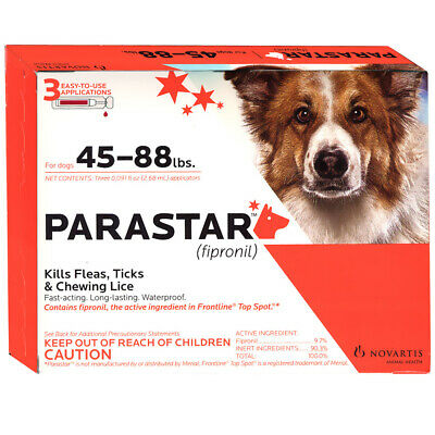 Parastar for Dogs [45-88 lbs] (3 count)