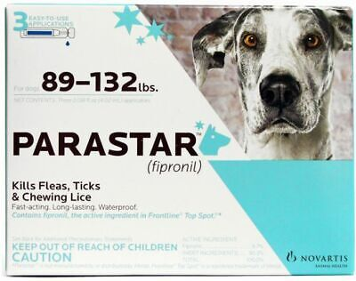 Parastar for Dogs [89-132 lbs] (3 count)