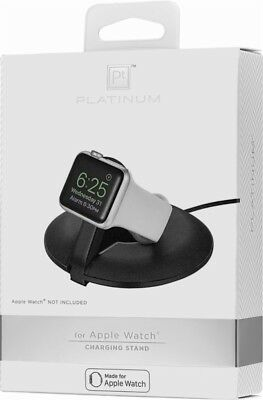 Platinum - Charging Stand for Apple for Watch Black