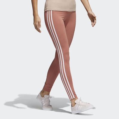 7fa694fc368a New Women s Adidas Originals 3-Stripes Leggings  Ce2444  Ash Pink    White