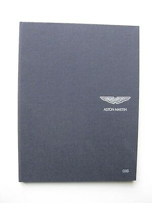 Aston Martin DBS hardbound prestige brochure Prospekt English/German 2008 80 pgs