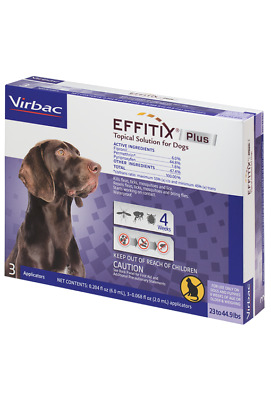 Effitix Plus for Dogs [23-44.9 lbs] (3 count)