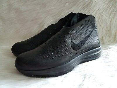 7a95aac87afd Wmns Nike Air Zoom Modairna Triple Black Leather Running ( 880884 001 ) Sz 7