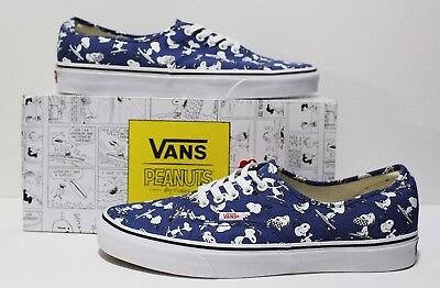 VANS X PEANUTS Authentic Snoopy Skating Men's Size 11
