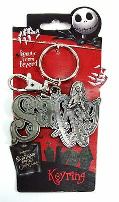 Key Chain - The Nightmare Before Christmas - Sally Pewter Keyring New 26503
