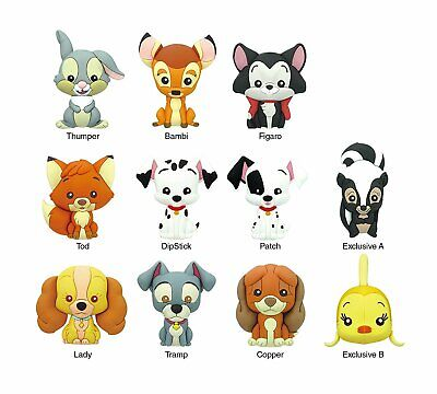 Key Chain - Disney - 3D PVC Foam Collectible Series-11 85120