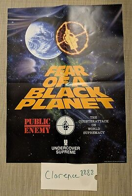 732624b31acf SUPREME X UNDERCOVER x Public Enemy - Fear Of A Black Planet Poster ...